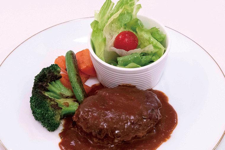 特製ビーフ100%ハンバーグステーキ(デミグラスソース)