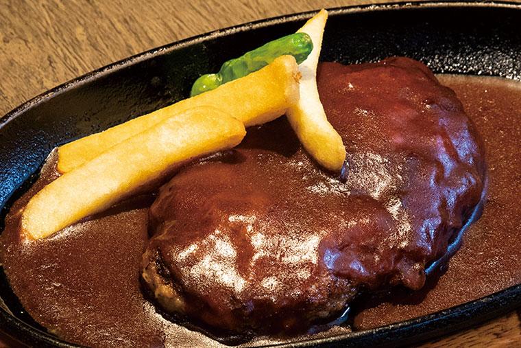ハンバーグステーキ1