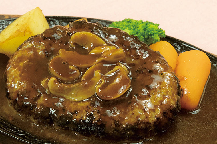 ハンバーグステーキ(ビーフ100%)
